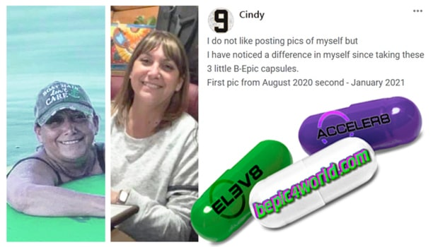 Cindy's review about B-Epic capsules