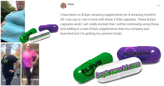 Paula writes about B-Epic capsules