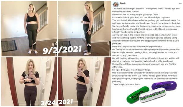 Sarah writes about B-Epic capsules