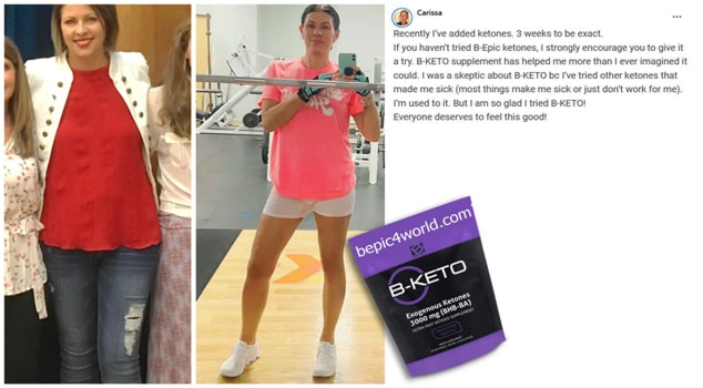 Carissa about B-KETO supplement by B-Epic