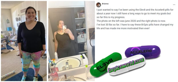Brianna writes about B-Epic pills to get weight loss