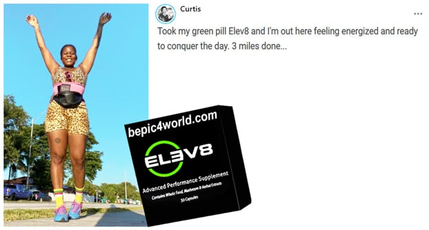 Review of Curtis about Elev8 pills