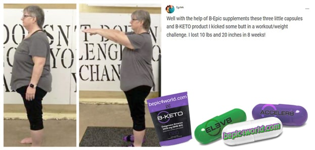 Feedback of Lynn about B-Epic supplements