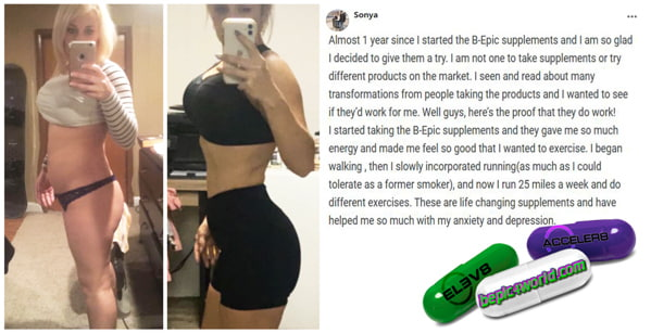 Feedback of Sonya about B-Epic supplements