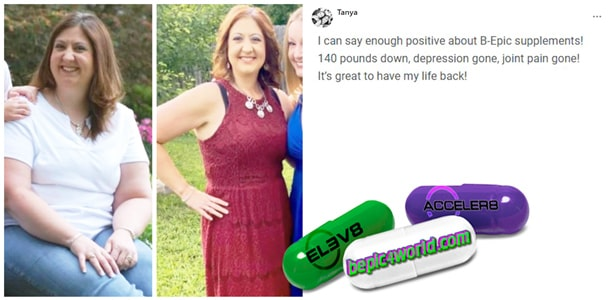 Feedback of Tanya about B-Epic supplements