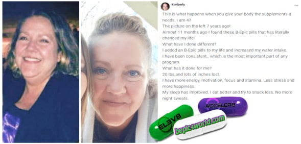 Kimberly writes about BEpic pills