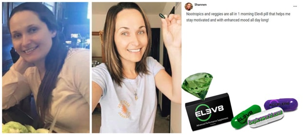 Review of Shannen about Elev8 pills