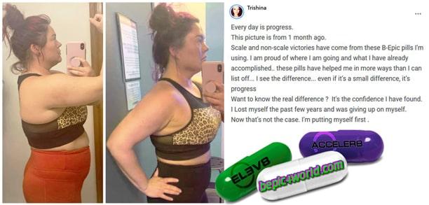 Trishina writes about B-Epic pills