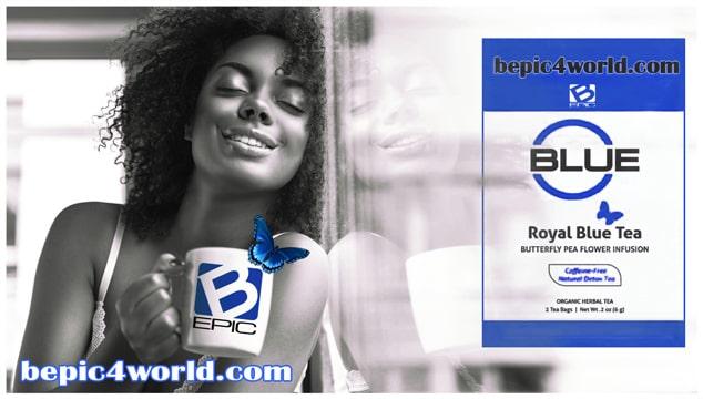 Blue tea of B-Epic