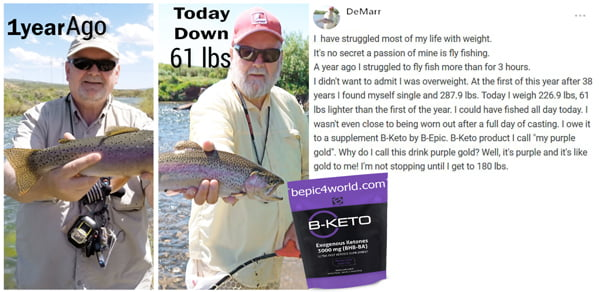 DeMarr about B-KETO supplement by B-Epic