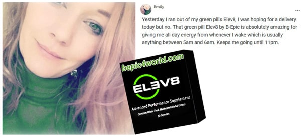 Review of Emily about Elev8 pills