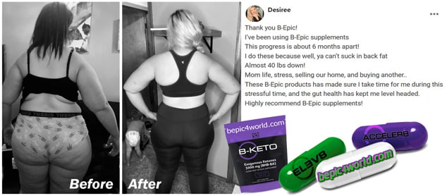 Feedback of Desiree about B-Epic products