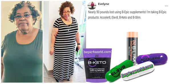 Feedback of Evelyne about B-Epic products