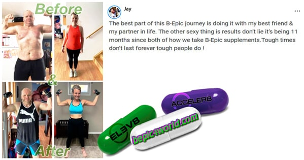 Feedback of Jay about B-Epic supplements
