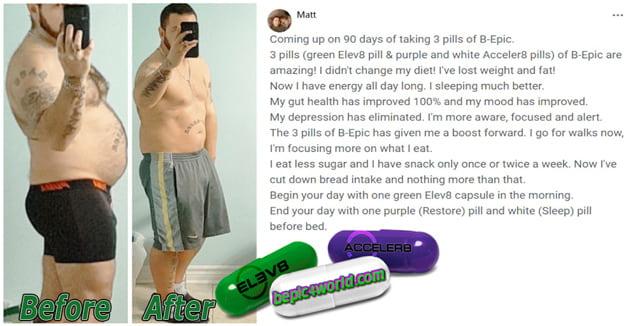 Matt writes about 3 pills of B-Epic