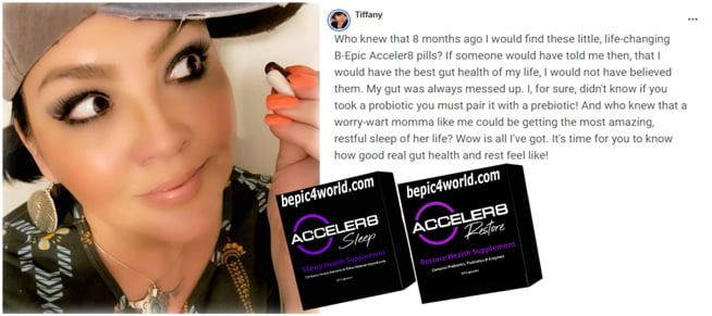 Review of Tiffany about Acceler8 pills