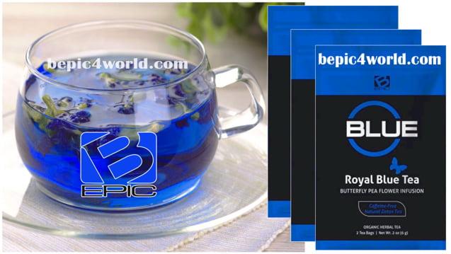 Royal Blue Tea of B-Epic