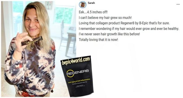 Sarah writes about Regener8 by B-Epic