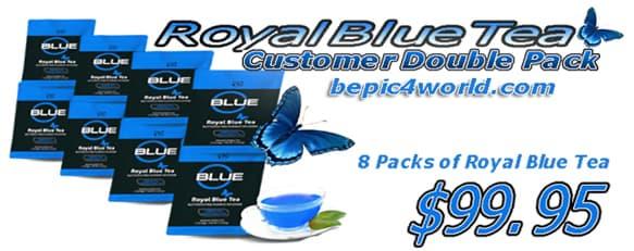 B-Epic Royal Blue tea Customer Double Pack