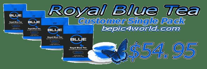 B-Epic Royal Blue tea Customer Single Pack