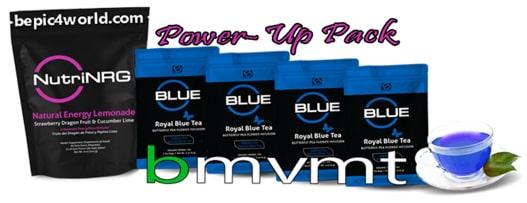 BMvmt Power Up Pack (NutriNRG & Royal Blue Tea)