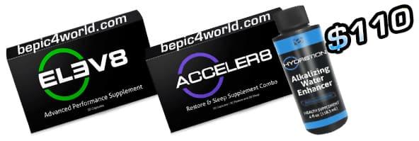 Epic Customer Pack Elev8 Acceler8 HYDR8TION