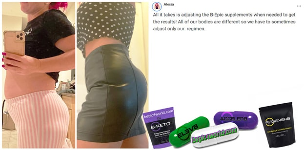 Feedback of Alessa about BEpic supplements