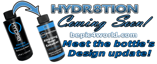 HYDR8TION product of BEpic