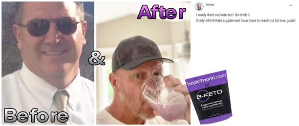 James writes about B-KETO supplement by BEpic