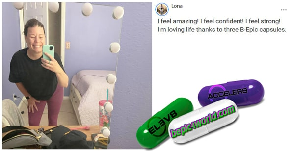 Lona writes about the benefits of BEpic capsules
