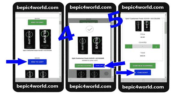 Registration in BEpic registration scheme 2