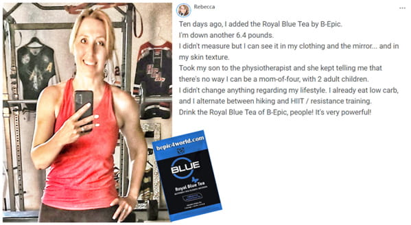 Review of Rebecca about Royal Blue Tea by BEpic