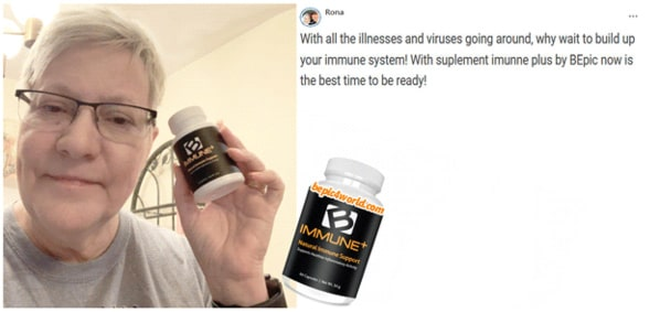 Review of Rona about product B-Immune plus by BEpic