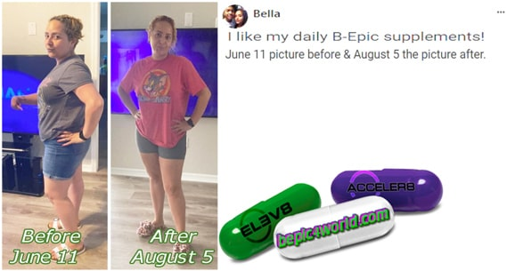 Feedback of Bella about the benefits of BEpic supplements