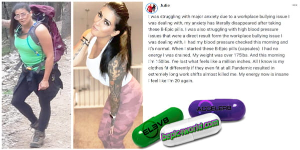 Julie writes about the benefits of B-Epic pills for energy