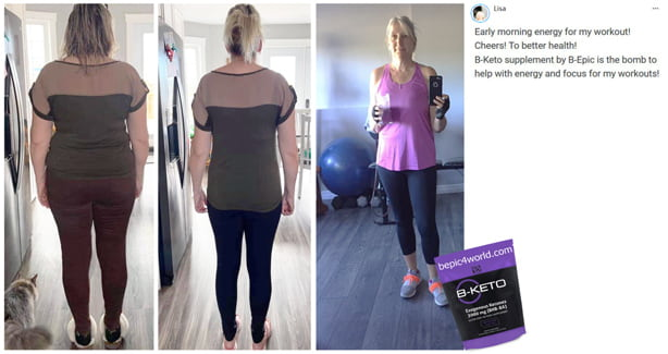 Lisa writes about B-KETO supplement by B-Epic