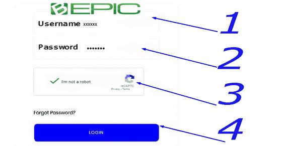 Member Login B-Epic