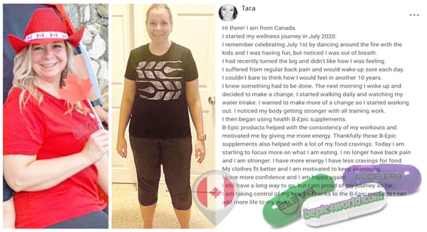 Tara from Canada writes about BEpic products
