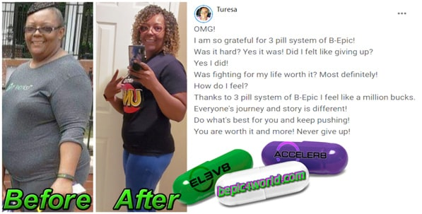 Turesa writes about the benefits of 3 pill system of B-Epic
