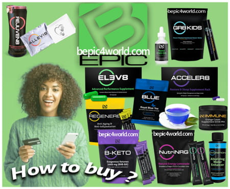 How to buy BEpic products in the USA Canada UK Australia New Zealand