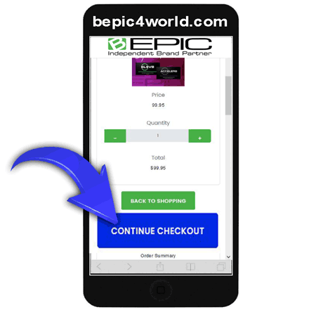 Instruction (scheme) 6 of placing order and buying B-Epic supplements