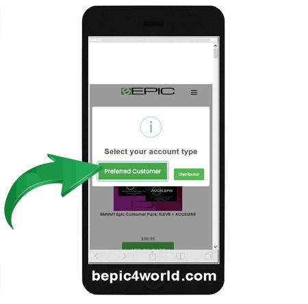 Registration in B-Epic registration scheme 3